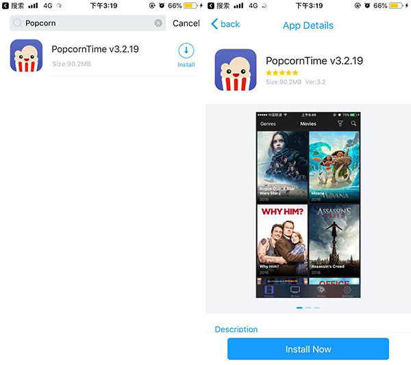 Download Popcorn Time To Watch TV And Movies For Free
