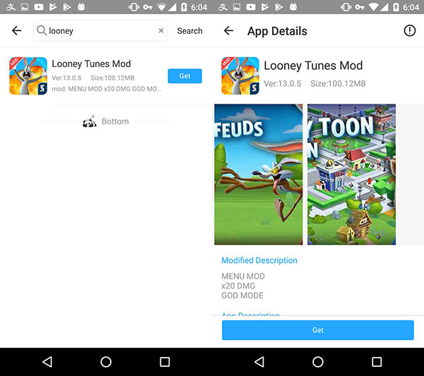 Download Looney Tunes Mod For God Mode On Android