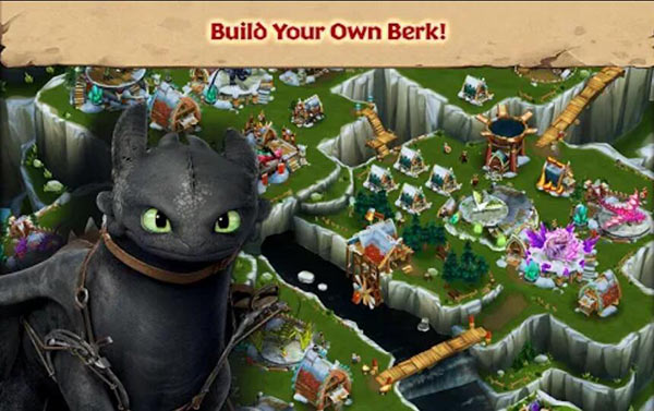 Free Download Dragons: Rise of Berk Mod Apk With Unlimited Runes