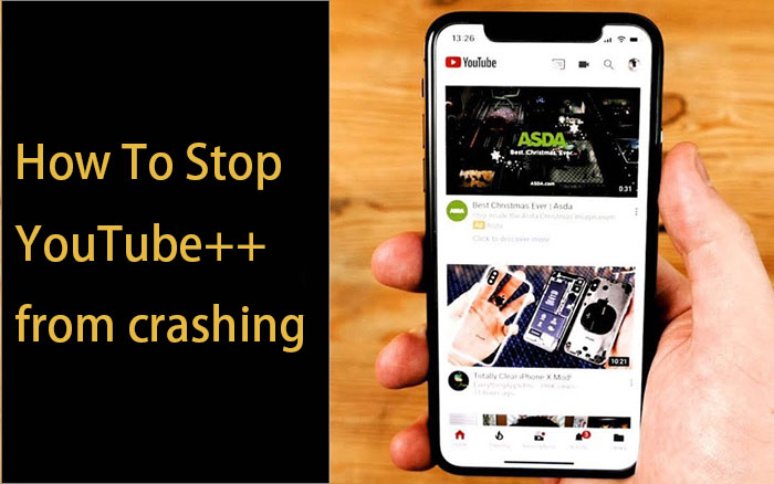 How To Do When YouTube++ Revoked Or Crashed?