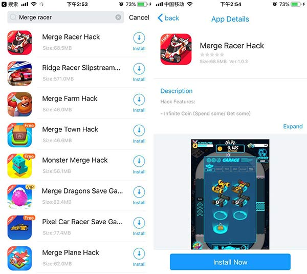 Download Merge Racer Hack iOS For Unlimited Money