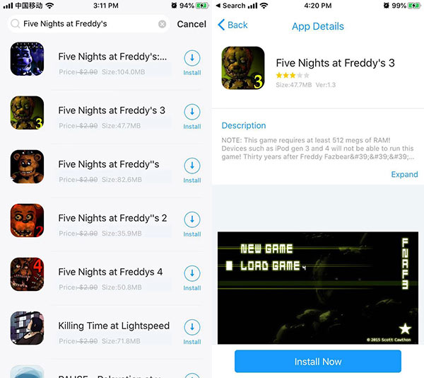Five Nights at Freddy's 3 Free Download