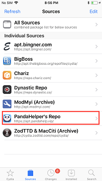 Install AppSync Unified from Panda Helper Repo
