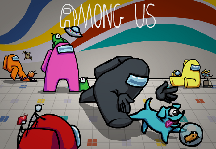 Among-Us-Mod-Apk-is-Updated-with-Unlocked-Skins--Hats-and-Pets-on-Panda-Helper-Andorid
