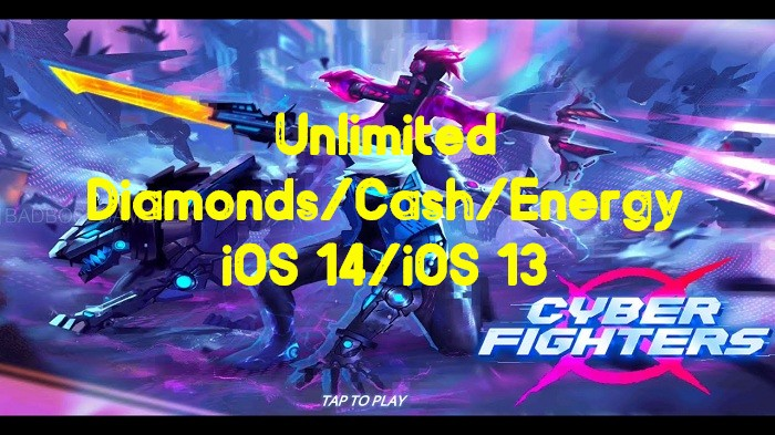 Cyber-Fighters-Hack-Unlimited-DiamondsCashEnergy-on-iOS-14iOS-13-1