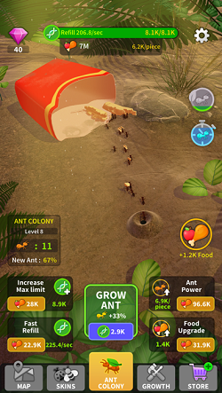 Little-Ant-Colony---Idle-Game-Hack-Unlimited-Currency-on-iOS-14iOS-13-1